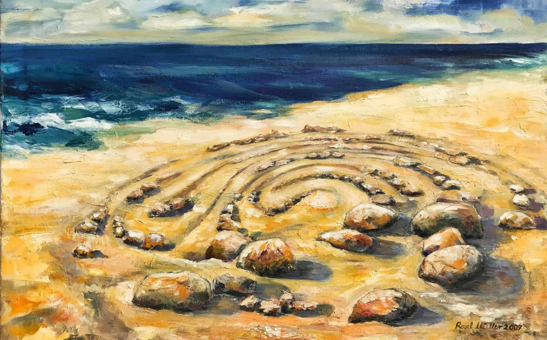 Meerspirale von Rosel Müller
